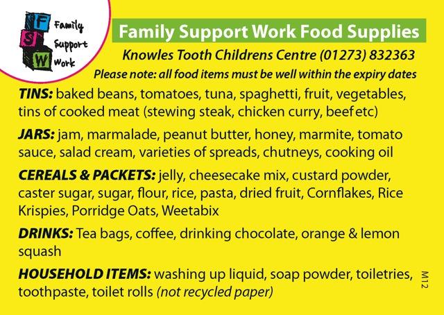 FSW food supply postcard